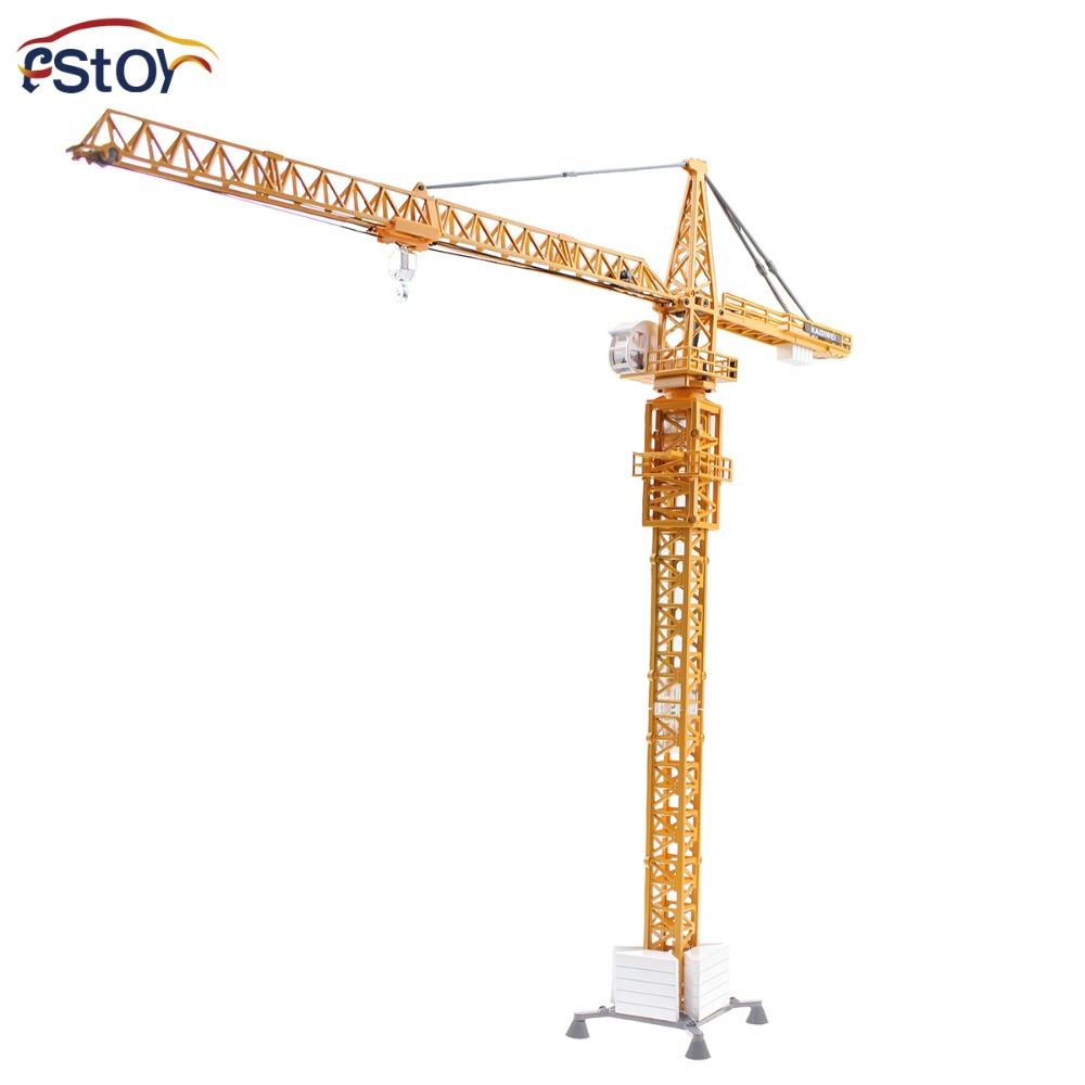 Alloy Diecast tower crane truck Model 1:50 scale enginering vehicle Collection gifts Toy(China (Mainland))