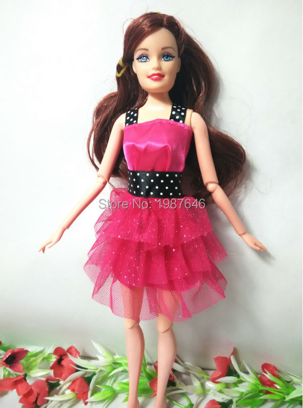Christmas Reward,Woman Birthday Reward physique with head supply mannequin select Toy Unique 11-Joints Doll doll equipment For Barbie Doll