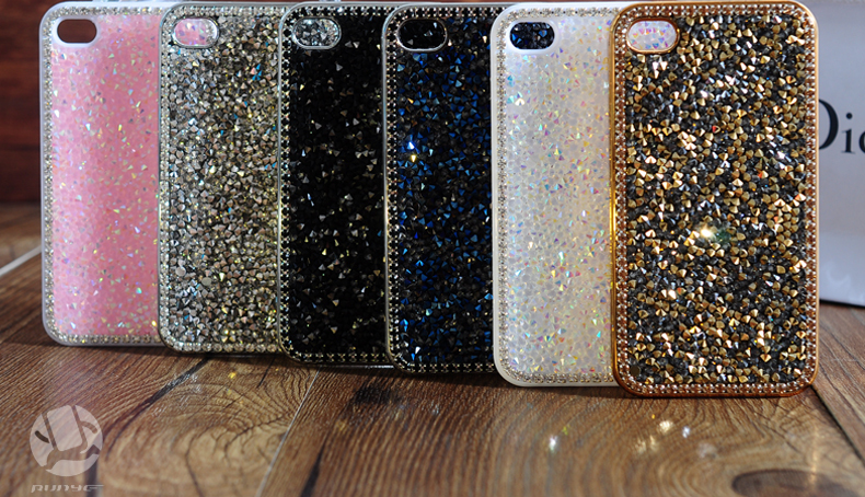 26 1pcs 4.7 inch Case For iphone6 case for iphone6 plus 5.5 inch Hot Fashion Luxury Diamond Flashing Cell Phone Cases Covers For apple iphone 6 case iphone 6 plus case accessories