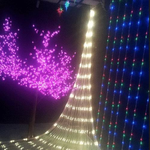 2015 New Arrive 110V 670 LED Mesh Net Fairy String Party Lights For Xmas Home Decorate for Christmas(China (Mainland))