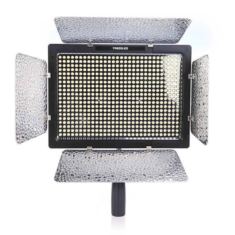 Free Shipping!Genuine YONGNUO YN600 LED 3200k-5500k Color Temperature Adjustable Camera Flash Light<br><br>Aliexpress