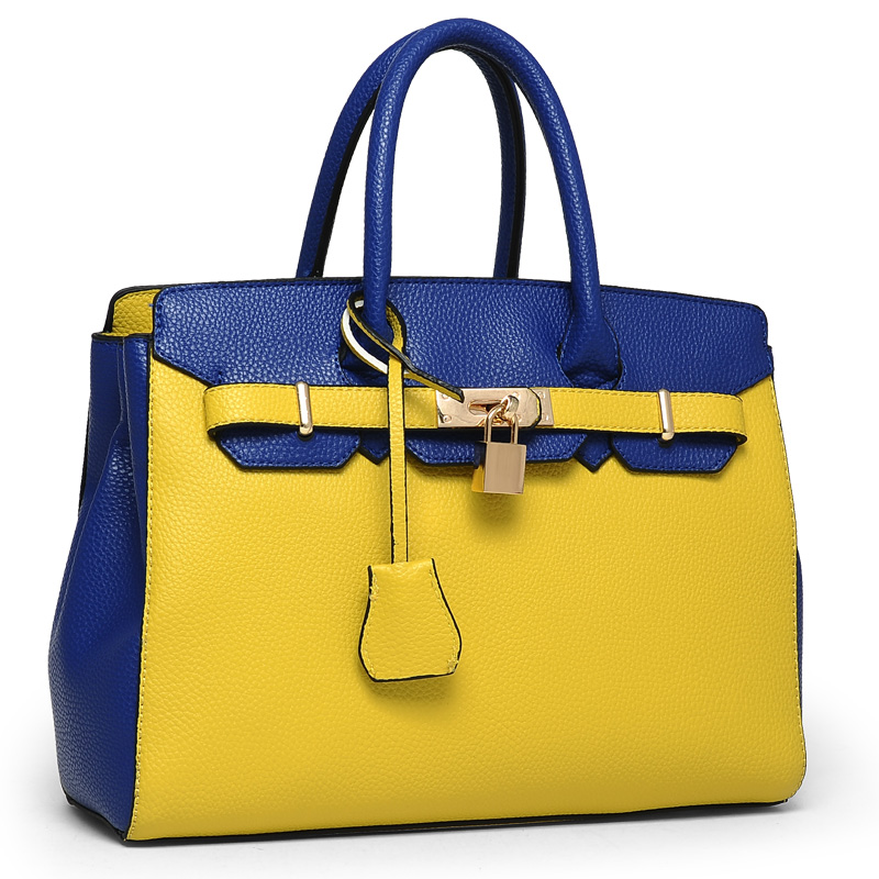 2015 women's summer genuine leather handbag big bag handbag litchi women's messenger bag trend(China (Mainland))