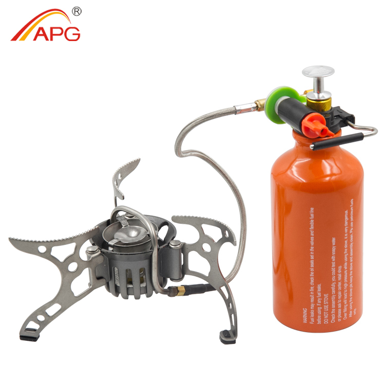 APG brand 2015 good quality outdoor Camping Oil Stove backpacking picnic Gasoline Cooker Burners, outdoor camping gasoline(China (Mainland))