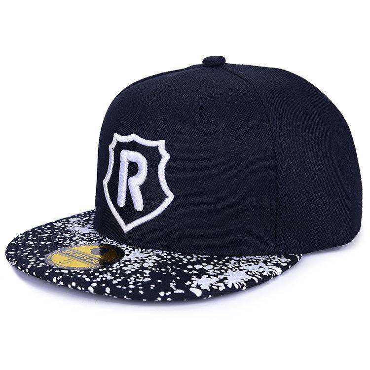 New Style 2015 Fashion Brand Baseball Cap Running Man Letter R Boy Girls Snapback Hats Teenager Hip-Hop Shield Caps(China (Mainland))