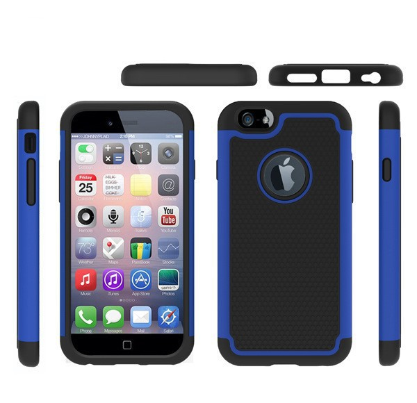 Hot sale TPU+PC 2 in 1 Neo Hybrid heavy duty shockproof Tough Armor Case Cover for Apple iphone5 5s 6 4.7 inch Capa Para Fundas(China (Mainland))