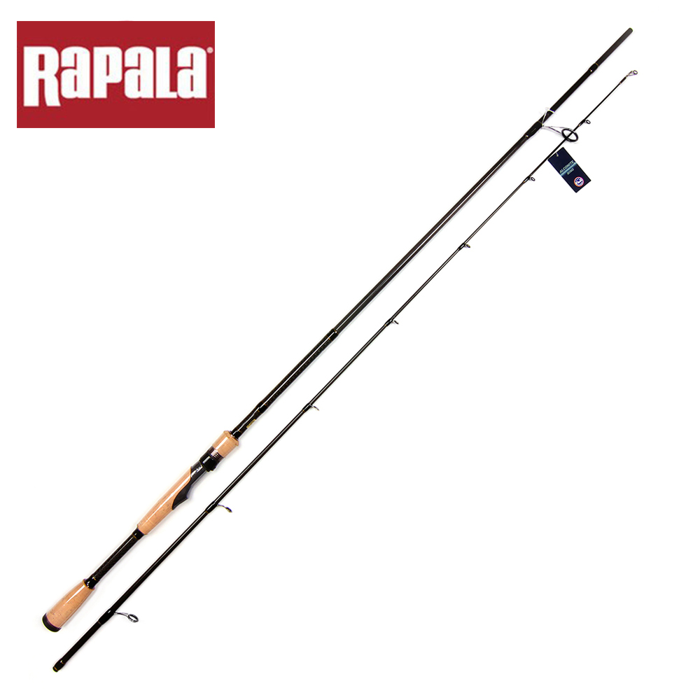 Rapala Brand SKITTER Series Tetra Axial Carbon Lure Fishing Rod 2.13m Two Tips M/ML/MH Spinning Rod For Baitcasting Lure Fishing(China (Mainland))