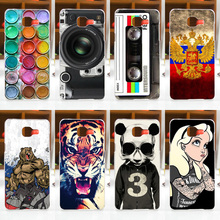 FOR Samsung Galaxy A5 2016 Case Cover A510 A510F Fashion Painted Cell Phone Protective Back Case Cover FOR Samsung A5 2016