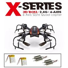 Free Shipping!MJX X902 RC Quadcopter Mini Helicopter 3D Flip Drone+Extra CW/CCW Motors&Battery