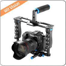 Buy YELANGU Protective DSLR Camera Cage Stabilizer Top Handle Set C2 for $99.00 in AliExpress store