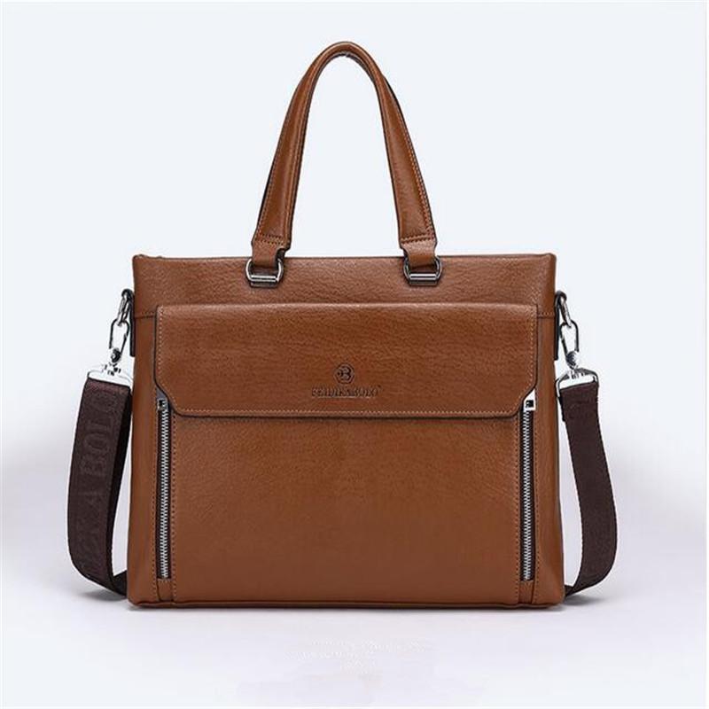 Фотография Business briefcase computer bag Simple Shoulder Bag Messenger Bag