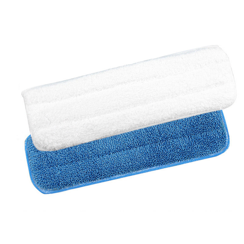 Hot Sale! Microfiber Mop Head Washable Wet/Dry Floor Dust Cleaning Microfiber Cloth Head Replacement Flat Mop Heads(China (Mainland))