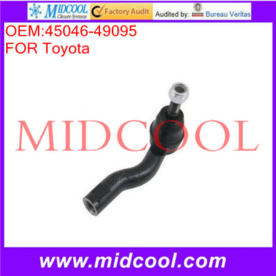 High Quality Auto Parts Front Left or Right Outer Steering Tie Rod End OEM:45046-49095(China (Mainland))