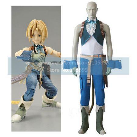 Final Fantasy IX Zidane Tribal Cosplay Costume Одежда и ак�е��уары<br><br><br>Aliexpress