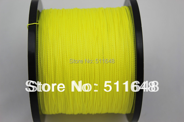 Free Shipping 1000m/pcs PE Braided Fishing Line  7 10 15 20 30 40 50 60 70 80 100LB