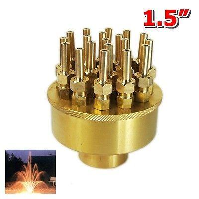 """1.5"""" DN40 3 Layers Fountain Nozzle 19 Sprinklers Spray Head Pond Pool(China (Mainland))"""