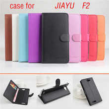 Lychee Fashion Case Jiayu F2 Flip Leather Case Original Flip Leather Cover With Hall Function For Jiayu F2 Mobile Cell phone