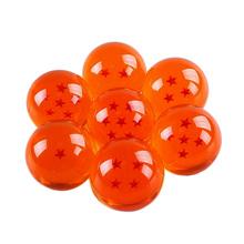7 Pcs/Set New Dragon Balls Acrylic Crystal Transparent Balls Dragon Balls with Box for Chidren Toy Gift 4.2 CM Diameter(China (Mainland))