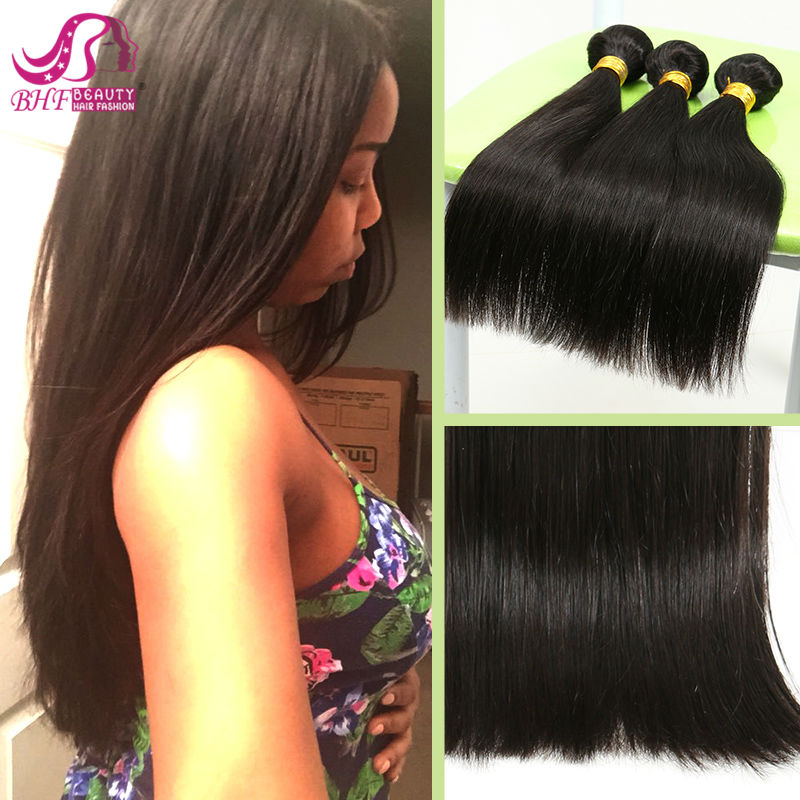 queen hair products Malaysia human hair 6A 100% human hair extension 5#straight 3 pcs lot 12-28 inches free shipping<br><br>Aliexpress