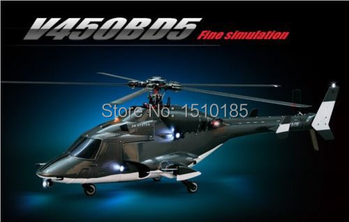 High Scale! Walkera V450BD5 Flybarless RC Model Helicopter BNF RTF Aluminum Case(China (Mainland))