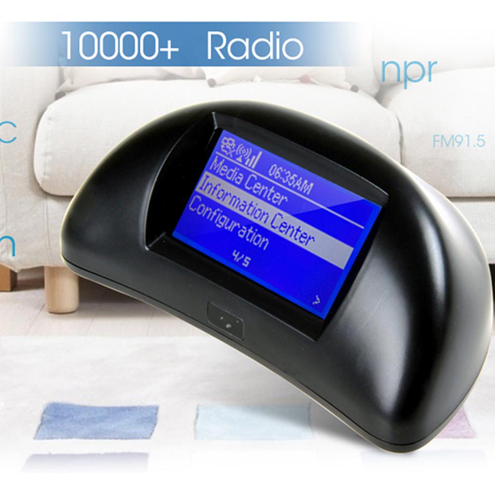 Cheap radio Internet WIFI Radio HFI220,DAB RADIO INTERNET WIFI RADIO + Earphone ( free gift ) free ship(China (Mainland))
