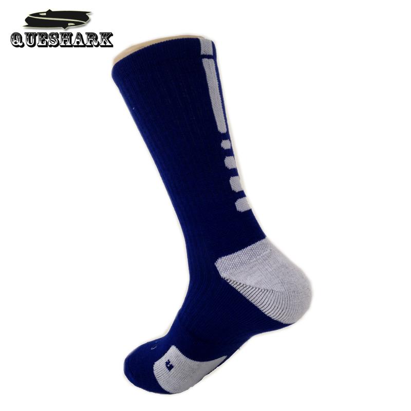 Thicken Towel Outdoor Men's Athletic Socks Fashion Sport Professional Basketball Elite Socks Brand Cycling Bicycle Bike Socks(China (Mainland))