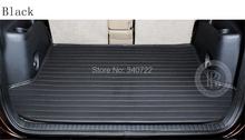 leather trunk mat fit for HYUNORI ELANTRA TUCSON ACCENT VERNA car trunk mat car tail box pad(China (Mainland))