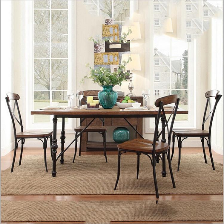 Directo de f brica americana de madera de poca mesas de - Fabrica de mesas de comedor ...