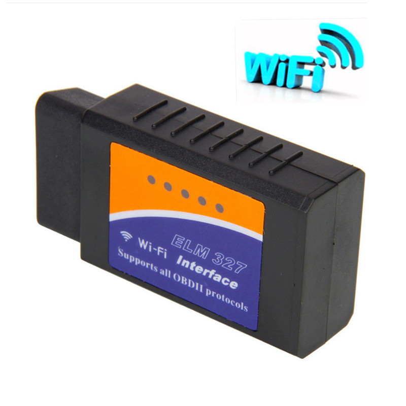 Car WIFI ELM327 Wireless OBD2 Auto Diagnostic Scanner Tool Scanner Adapter Check Engine Scan Tool supports PC iPhone IOS(China (Mainland))