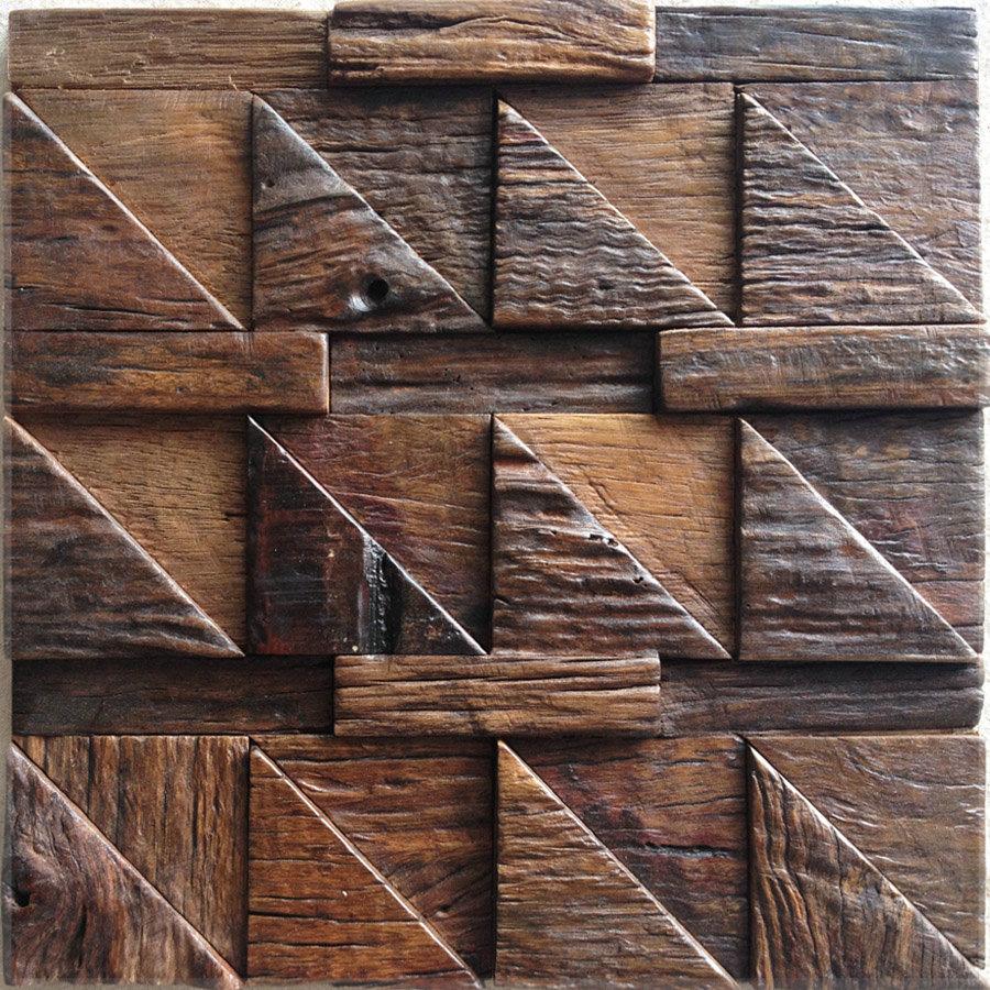 ... muur houten baksteen dhl gratis verzending 3d bord wa in zelfklevende
