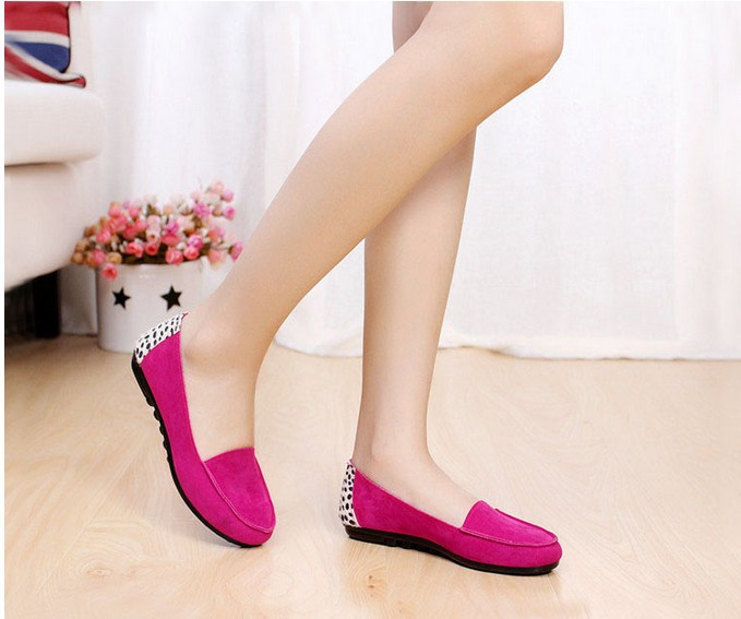Leopard Shoes Spring Summer High Quality Fashion Women Slip On Leopard Print Canvas Shoes Sweet Bowtie Flat Shoes Peas Shoes<br><br>Aliexpress