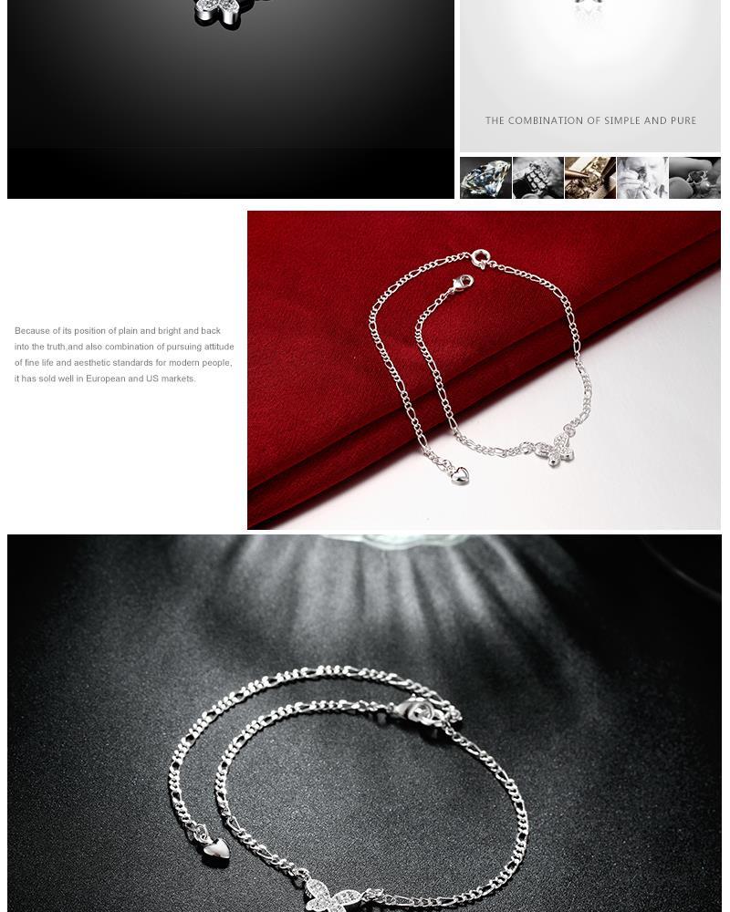 Populares acessórios jóias Tornozeleiras Pulseira Mulheres Tornozeleiras pé pés Leves Praia Favorita YMW-ZE116
