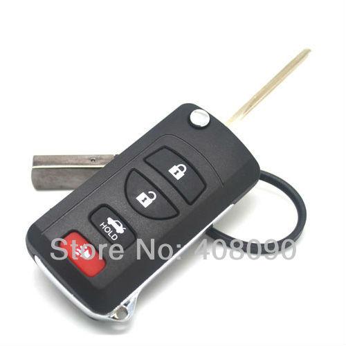 Folding Remote Key Shell Case Nissan Infiniti G35 I35 350Z 3BT + Panic DKT0244 - lightinthepackage store