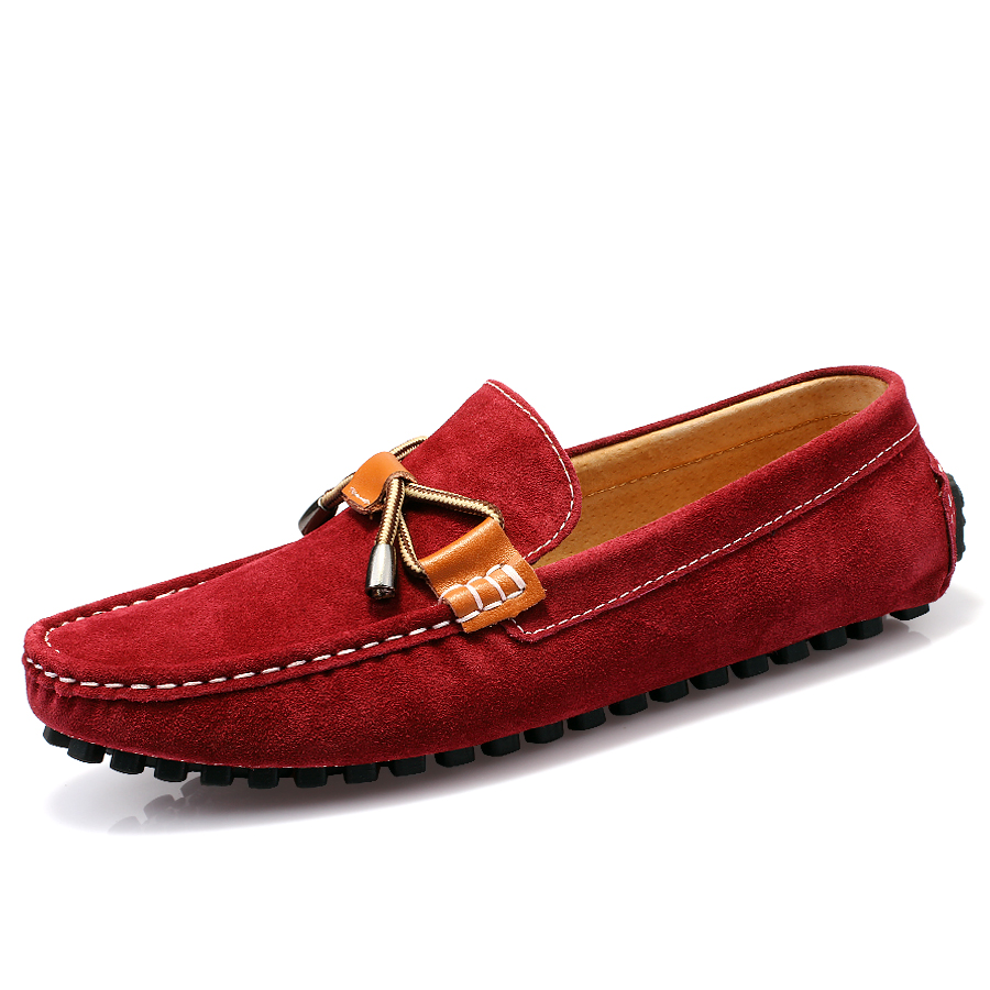 comfortable flats new casual shoes flock leather