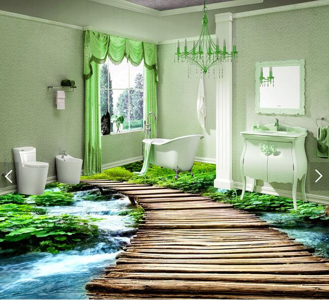 Bathroom Wall Murals compare prices on 3d wall murals wallpaper bathroom- online