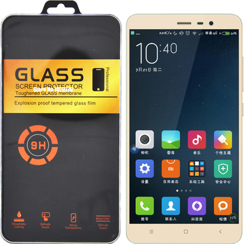 Retail Package For Xiaomi Redmi Note 3 Pro Glass For Xiaomi Redmi 3S Glass Tempered Note 2 3 Mi3 Mi4 Mi4C Mi5 Screen Protector