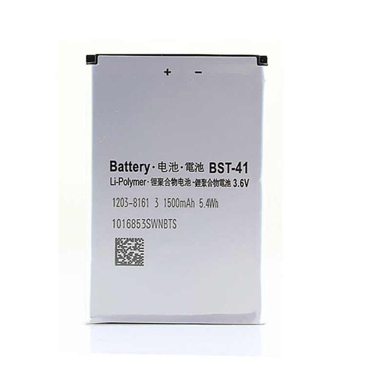 2PCS BST-41 Rechargeable Battery BST41 For Sony Ericsson Cellular X1 X1i X10 Mobile Cell Phone 1500mah Free Shipping Retail(China (Mainland))