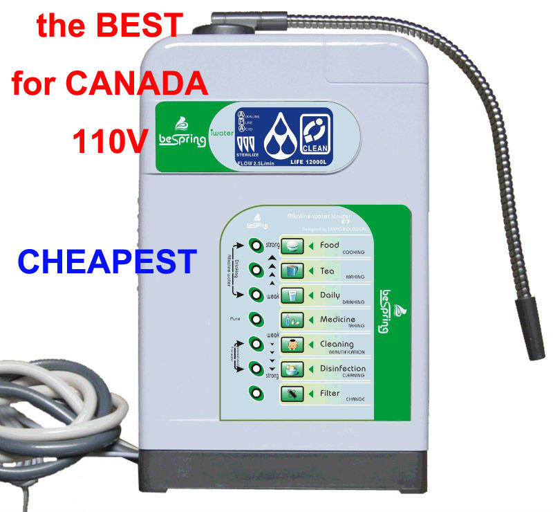 CANADA ALKALINE &amp; ACID WATER IONIZER, 110V, WATER MACHINE<br><br>Aliexpress