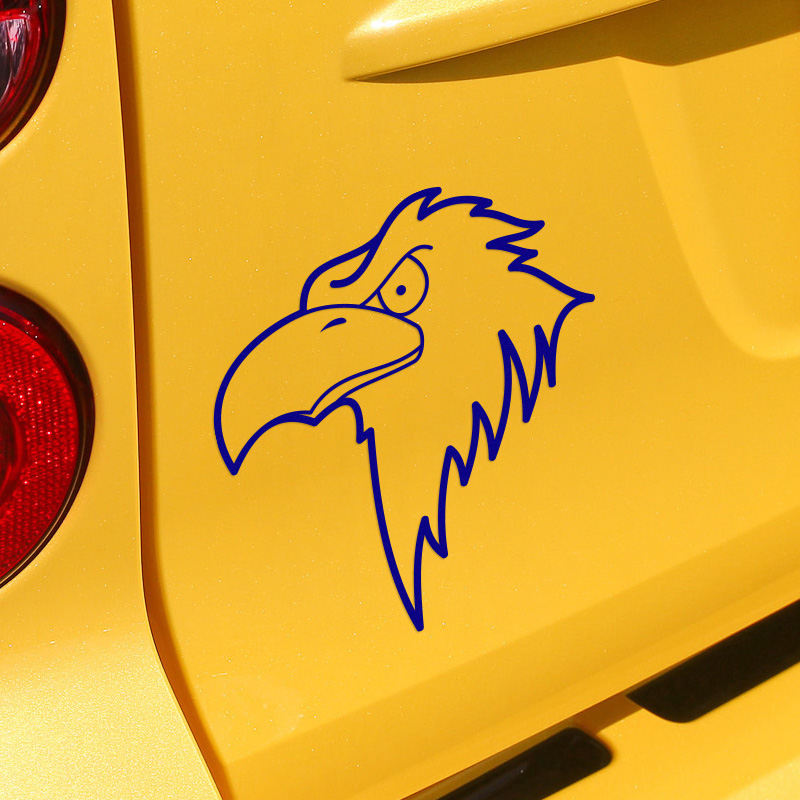 3 Pieces New Arrival Funny Eagle Stickers Decal Car-Styling For vw ford Honda Toyota opel BMW SEAT Renault car accessories(China (Mainland))