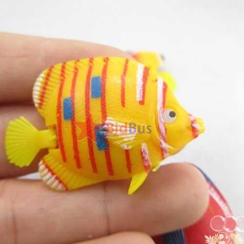 Bidbus fast decoration aquarium tank simulated vivid for Fake fish that swim