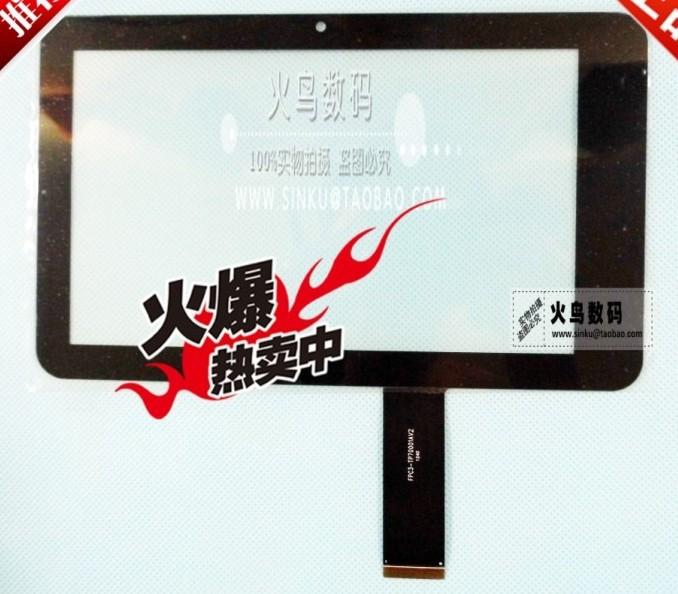 Free shipping 7 inch screen protector gift 100% New Freelander PD10 3G touch panel digitizer FPC3-TP70001AV2 FPC3-TP70001AV1(China (Mainland))