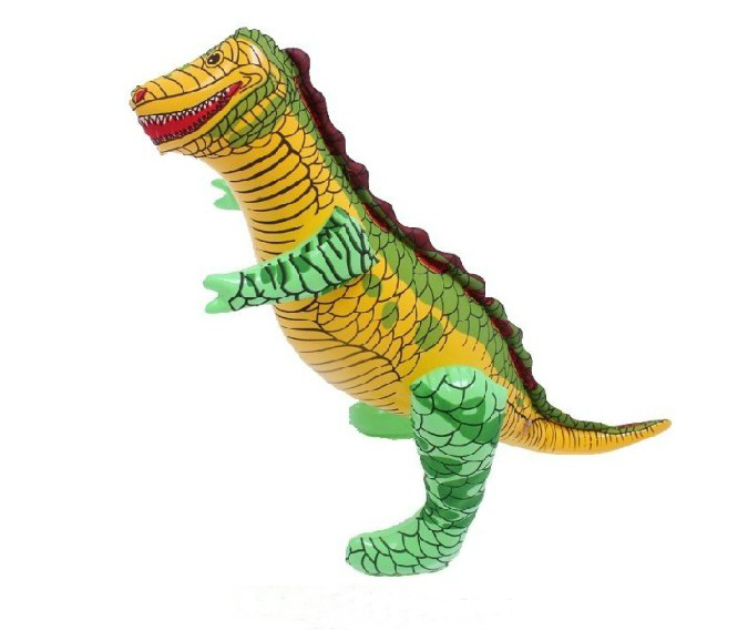 free shipping (20 pieces/lot) lovely PVC inflatable animals inflatable dinosaur(China (Mainland))