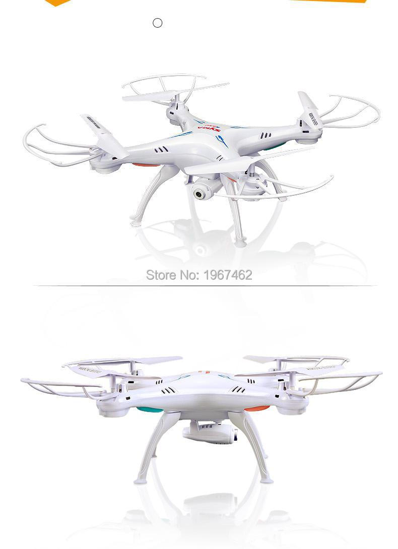 SYMA X5SW RC Drone 2.4G 4CH 6-Axis Quadcopter With 2MP WiFi Camera Video Remote Control Helicopter Real Time video