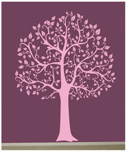 Wall Decal 6 FT. BIG TREE Pink Deco Art Sticker Mural DIY Removable wallpaper size 56*72inches - Top Fashion store
