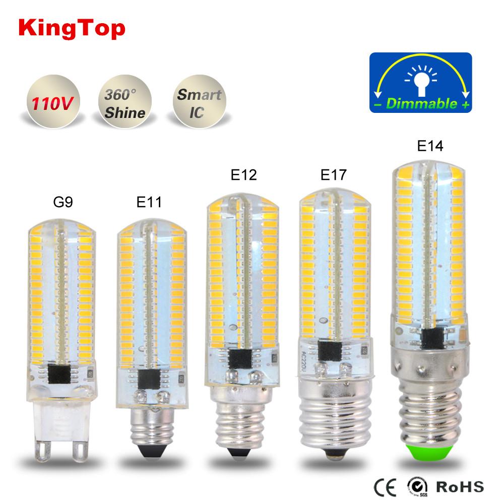 E11 E12 E14 E17 G9 SMD4014 Led Bulb Light 152Leds Silicone Body Lamp AC110V 127V For Chandelier Candle Christmas Lighting 1PCS(China (Mainland))