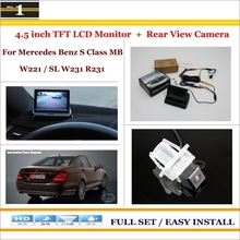Mercedes Benz S Class MB W221 SL W231 R231 - 4.3 inch TFT LCD Monitor + Car Rearview Back Camera = 2 1 Parking System Xi DaDa Store store