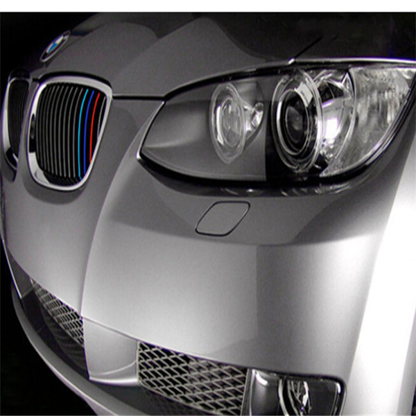 1 pcs 20 x 0 5cm M SPORT 3 COLOR Car styling Front Reflective STRIP DECAL