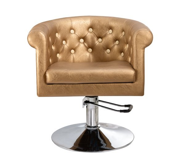 hot-sale styling chair with chrome base