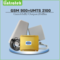 Dual Band Signal Repeater 2G 3G EDGE HSPA GSM 900MHz WCDMA UMTS 2100MHz Mobile Signal Booster