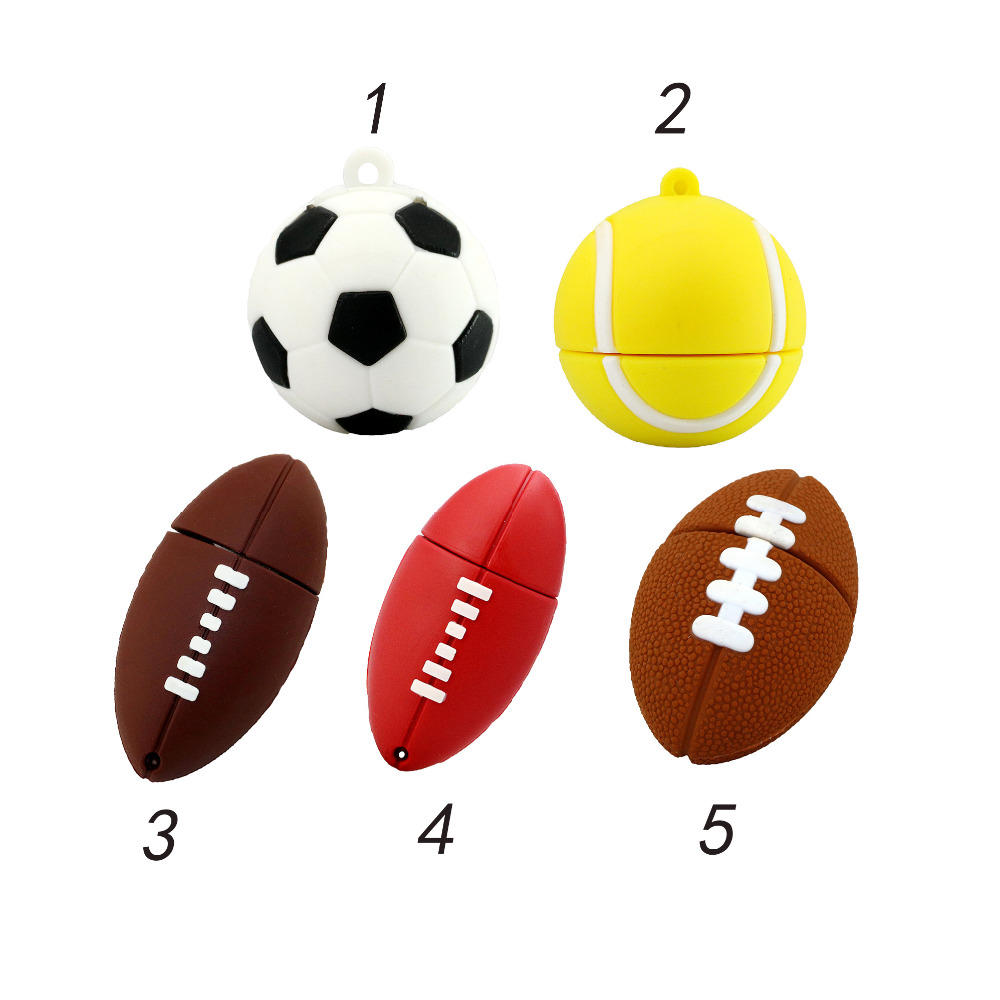 HOT! tennis pen drive 4GB/8GB/16GB Sports ball usb stick usb flash drive sport ball memory stick mini USB 2.0(China (Mainland))