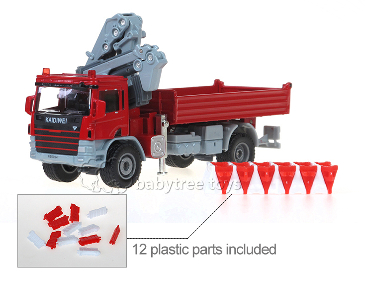KDW 1:50 Scale Diecast Atego with Crane Car Model Metal Truck Carrinho de Brinquedo Classic Collectible Toy Cars for Sale(China (Mainland))